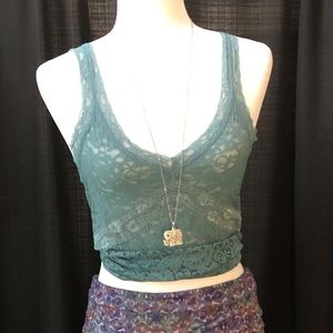 The Limited Lace Sheer Tank
